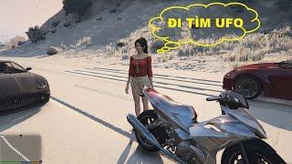 GTA 5 - Đi Tìm UFO Bí Ẩn Trên Núi Mount Chiliad (UFO Thứ 4)
