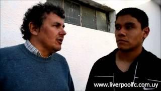 preview picture of video 'Entrevista Lucas Tamareo | Partido Liverpool vs Cerro'