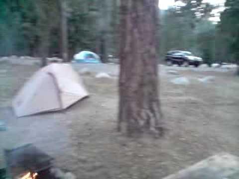 Camping in USA Kalifornien