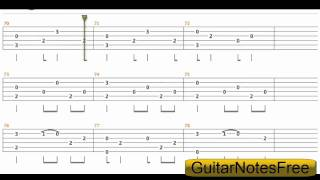 A Thousand Years   Sungha Jung Guitar Tab HD