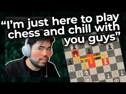 I'm just here to play chess and chill with you guys... Nakamura vs Iturrizaga Blitz Match Part 2