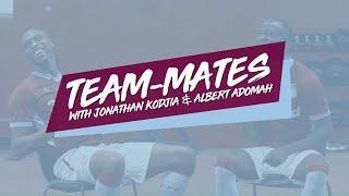 Team-mates: Jonathan Kodjia and Albert Adomah