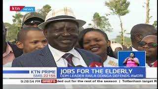 Raila Odinga defends President Uhuru's move to appoint former Vice President Moody Awori