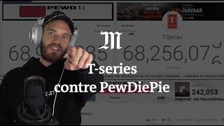 PewDiePie contre T-Series : duel d'abonnés sur YouTube