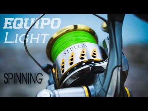 El MEJOR equipo para PESCA SPINNING light  a72488f3c72