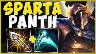 *LITERALLY* STOMP THE ENEMY TO THE GROUND WITH CRIT PANTH BUILD! PANTHEON GAMEPLAY League Of Legends