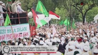 Allahu Akbar Habib Rizieq Dan Ratusan Ribu Ormas Islam Gebrak Kantor Ahok
