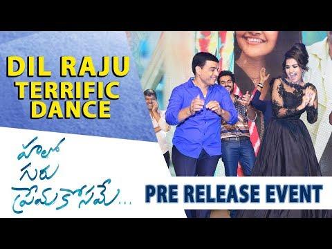 Dil Raju Terrific Dance - Hello Guru Prema Kosame Pre-Release Event - Ram Pothineni, Anupama