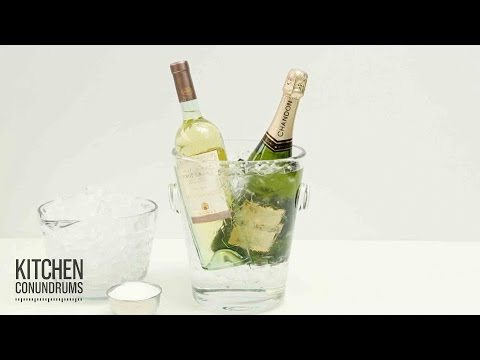 The Fastest Way to Chill Your Champagne – Kitchen Conundrums with Thomas Joseph
