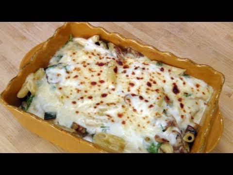 Veggie Pasta Bake – Recipe by Laura Vitale – Laura in the Kitchen Episode 144