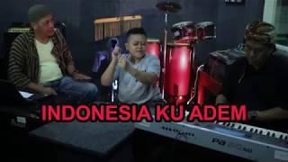 INDONESIA ADEM . Lirik Nusantaraku Cip A.Arianto ( Cover : Two Net )