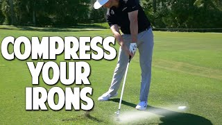 The Best Golf Tips To Strike Your Irons Solid and Pure