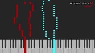 C.A. Löschhorn – Nummer 5, Kinder-Etüden (Op. 181, 5)
