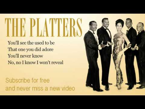 The Platters - You\'ll Never Know - Lyrics