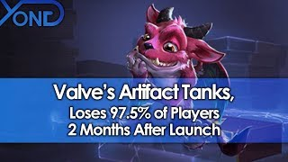 Valve's Artifact Tanks, Loses 97.5% of Players 2 Months After Launch