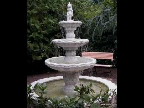Gartenbrunnen, Springbrunnen, Standbrunnen