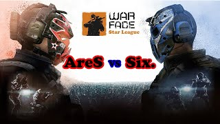 |Warface Star League| AreS vs Six.  -Rodada 1-