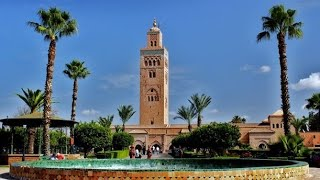 Koutoubia mosque in Morocco