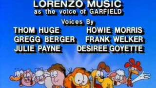 Garfield and Friends Season 3 credit sequence