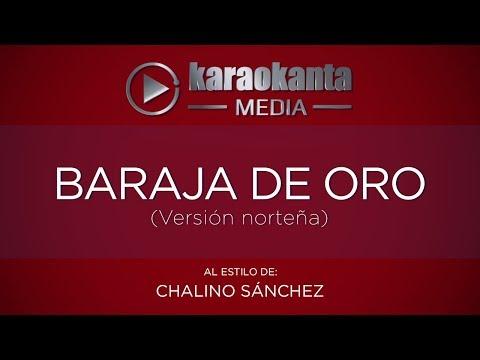 Baraja de Oro Chalino Sanchez