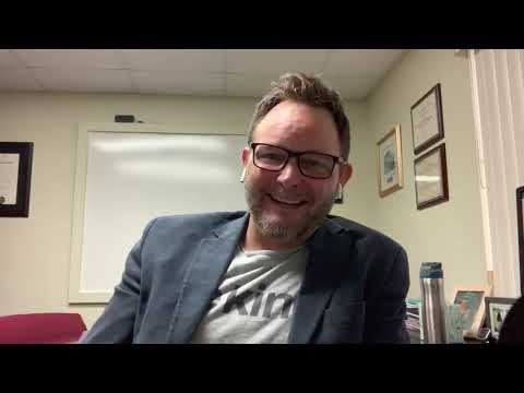 Video of Lighthouse CEO, Kyle Johnson at his office desk
