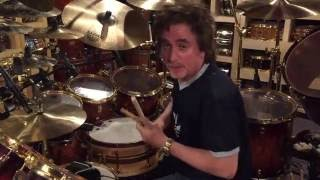 Todd Sucherman-recording session overview and listen June 2016