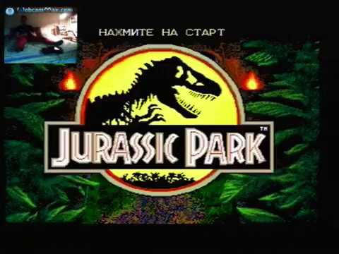 Shim Plays Jurassic Park (1993) on Sega Super Drive II