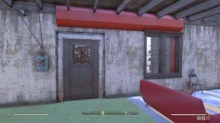 Fallout 76 concrete bunker C.A.M.P.