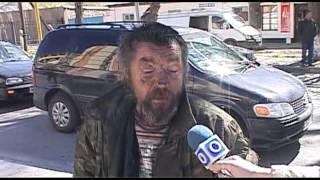 Шымкентского бомжа не пустили на кастинг X Factor