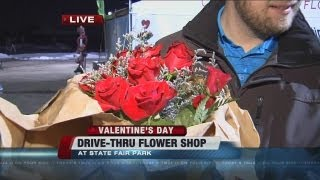 Drive-thru Flower Shop At State Fair Park