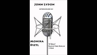 Interview with John Lydon on SF Beat with Monika Dietl 1984