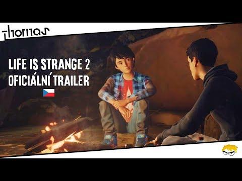 Life is Strange 2 - Oficiální Gamescom 2018 Trailer s volným českým překladem | Thomas
