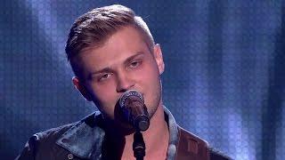 """The Voice of Poland V - Gracjan Kalandyk - """"Give Me Love"""" - Przesłuchania w ciemno"""