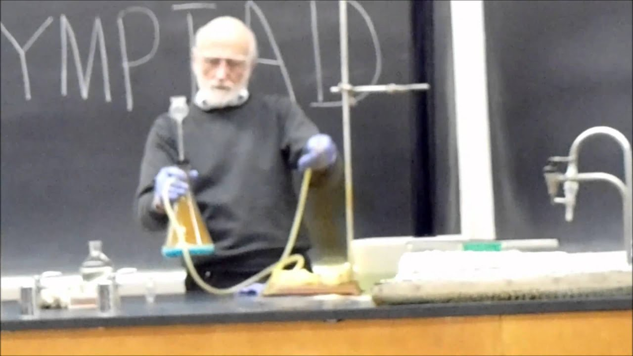 You Simply Must Watch These Spectacular Chemical Reactions