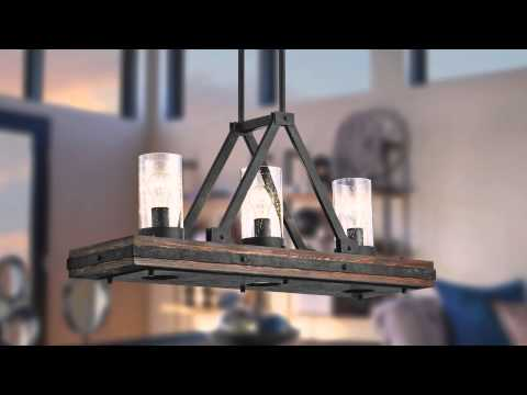 Video for Colerne Auburn Stained One Light Mini Pendant