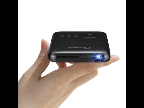 Aodin Android Projector LED LAMP, BLUETOOTH, WIFI 32GB MEMORY