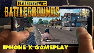 PUBG on iPhone X! - PlayerUnknown