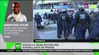 Grève dans les prisons : le délégué CGT Ambroise Koubi répond à RT France