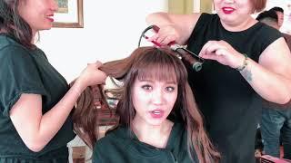 Hari Won - hậu trường chụp ảnh Xìn Ri