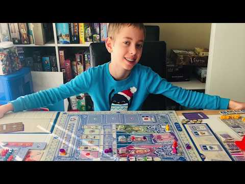 Lisboa Board Game Review!...with Justin and Max!