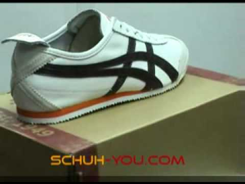 Asics Onitsuka Tiger Mexico 66  White Seal Brown at Schuh-You com Sneaker Store