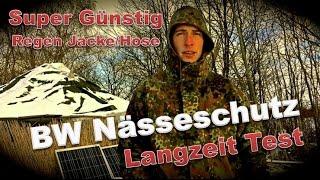 BW Nässeschutz Hose / Jacke Review Langzeittest