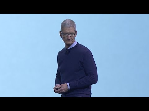 Supercut of Tim Cook's dramatic pauses at Apple's WWDC 2017