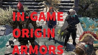 In-Game Origin Armors