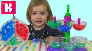 Ювелирная мастерская Орбиз c разноцветными шариками Orbeez