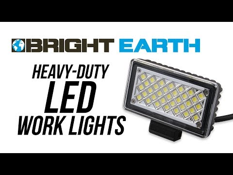 Bright Earth Heavy-Duty Work Lights