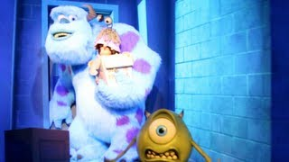 Monsters, Inc. Mike & Sulley to the Rescue! (HD POV - Full Ride and Queue)