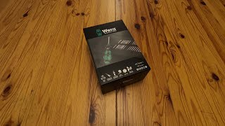 WERA Kraftform Kompact Turbo 1 *REAL* Unboxing and First Impressions in English