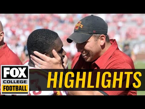 Iowa State vs Oklahoma   Highlights   FOX COLLEGE FOOTBALL