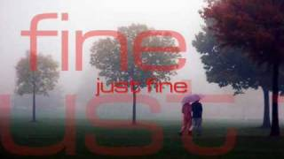Just Fine - Chris Brown (lyrics on screen)
